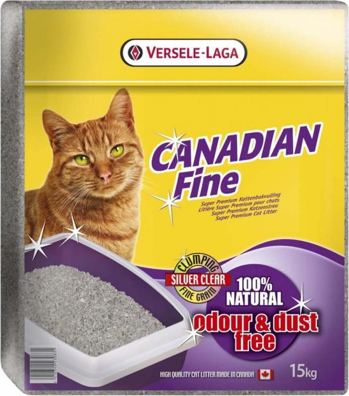 Versele-Laga Canadian Fine 15kg - Einstreu, dass sofort unangenehme Gerüche neutralisiert
