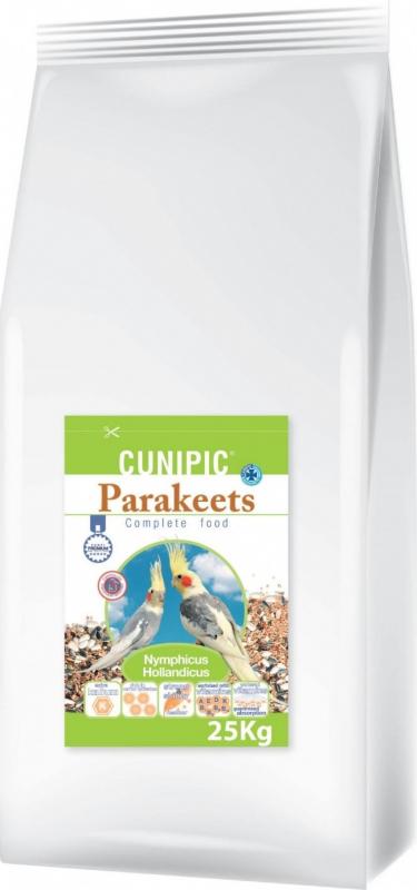 Cunipic Premium Parakeets Aliment complet pour grandes perruches