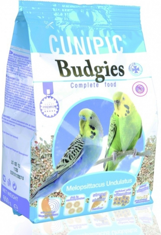 Cunipic Premium Budgies Aliment complet pour perruches