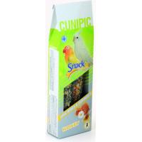 Cunipic Snack Deluxe Friandises Fruit Barres pour grandes perruches et inséparables
