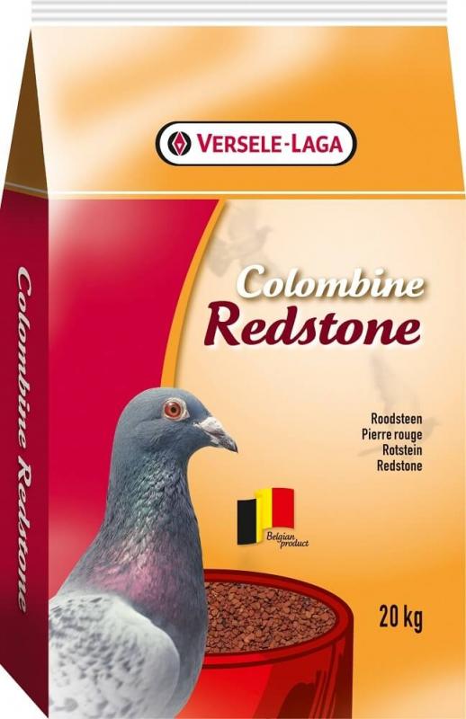Piedra roja para palomas para una buena digestión