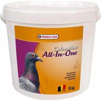 Colombine All-In-One - contiene todo lo que las palomas necesitan para el periodo de reproducción, de competición y para una muda ideal.