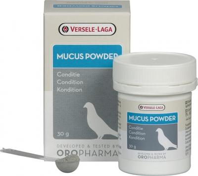 Oropharma Mucus Powder - antiglairol - stimule les pigeons apathiques, favorise la digestion et aide à prévenir les problèmes respiratoires
