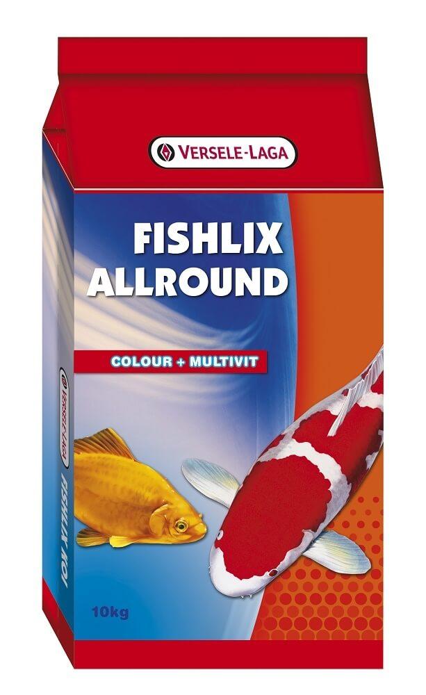 Fishlix allround multifutter f r teichfische for Teichfische futter