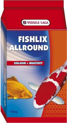 Fishlix Allround - Multifutter für Teichfische - stimuliert die Vitalität und das Immunsystem Ihrer Fische