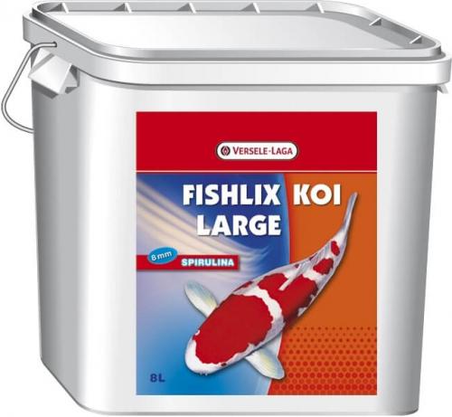 Fishlix koi ancho 8 mm granulado flotante para koi for Comida para koi