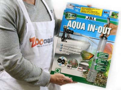 Cloche changement d'eau et remplissage pour aquarium Aqua In-Out