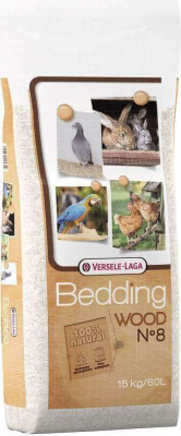 WOOD BEDDING - 60l - gehäckselte Buche 15kg