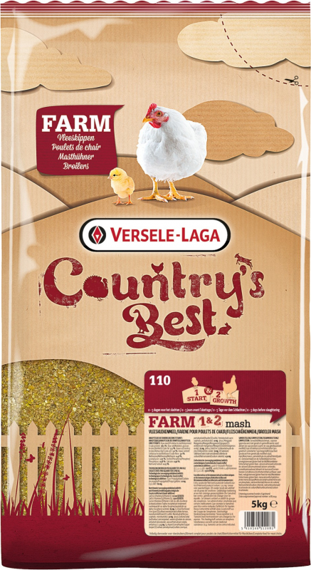 Country's Best Farm 1 & 2 Broiler Mash