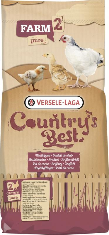 Farm 1&2 Mash Country's Best Farine pour poulets de chair
