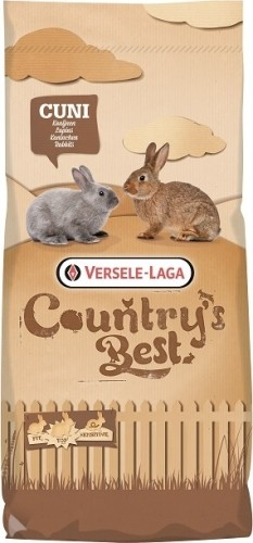 Cuni Fit PLUS COUNTRY'S BEST - aliment de base pour lapins avec coccidiostatique