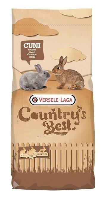 Cuni Fit PLUS COUNTRY'S BEST - aliment de base pour lapins avec coccidiostatique_0