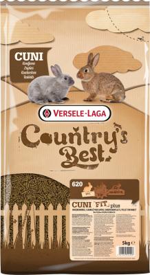 Cuni Fit Plus Country's Best Granulés riche en fibres avec coccidiostatique