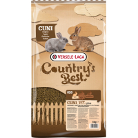 Cuni Fit Plus Country's Best Granulés riche en fibres avec coccidiostatique