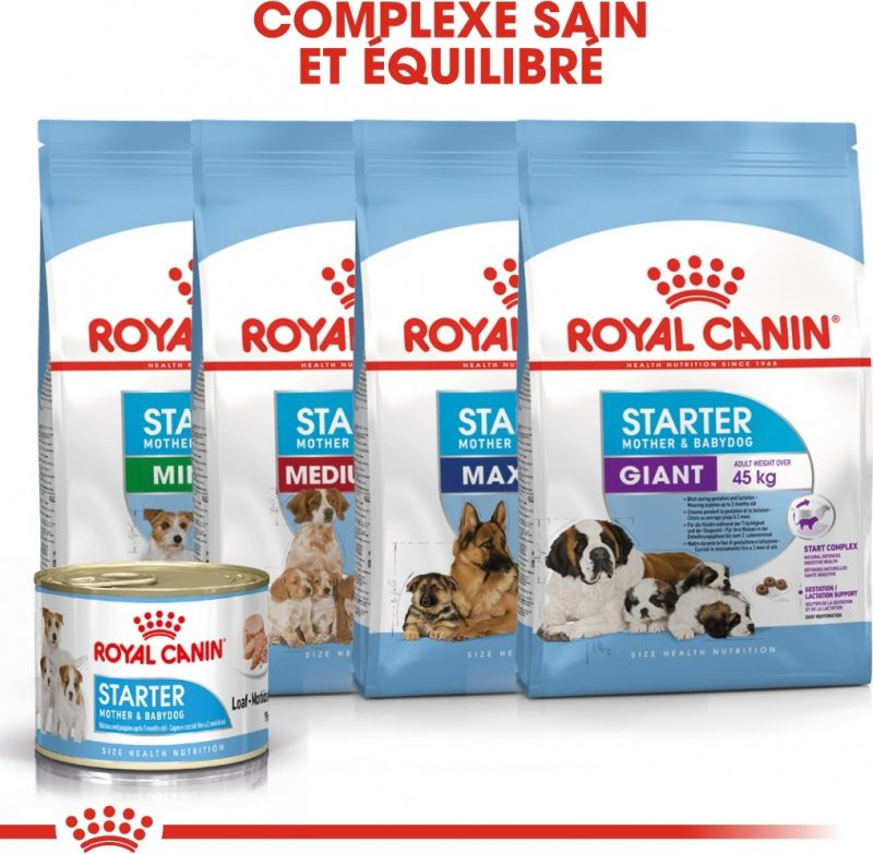 Pâtée Royal Canin Starter Mousse Mother and Baby Dog