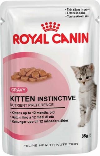 Royal Canin Kitten Instinctive Pâtée en sauce pour chaton