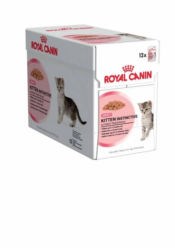 royal canin kitten instinctive in sauce nassfutter f r katzen. Black Bedroom Furniture Sets. Home Design Ideas