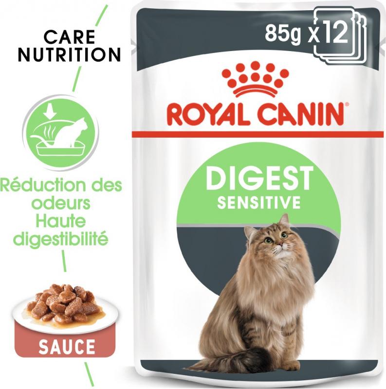 Royal Canin Digest Sensitive in Soße für Katzen