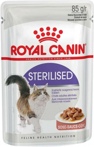 ROYAL CANIN Sterilised Paté en salsa para gato adulto