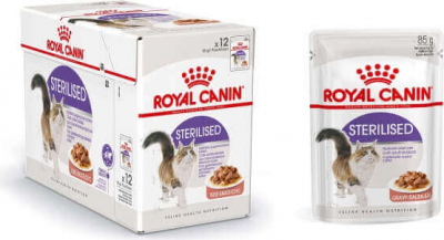 Royal Canin Sterilised Pâtée en sauce pour chat adulte