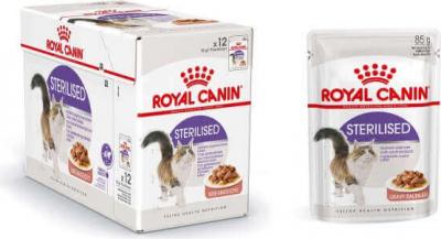 Royal Canin Sterilised in Soße für erwachsene Katzen