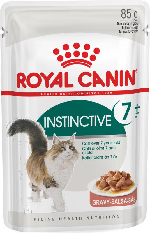 Royal Canin Instinctive +7 Thin Slices in Gravy