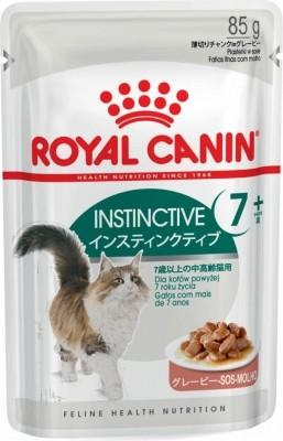 Royal Canin Instinctive Pâtée en sauce pour chat de 7ans et plus