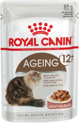 Paté Royal Canin Ageing + 12 en salsa para gatos maduros