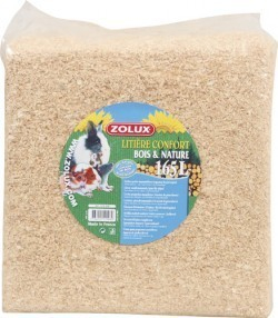 Bedding litter sawdust for small furry pets 165 litre