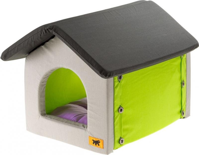 Maison Soft bedding pour chat et petit chien