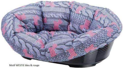 SOFA Soft bedding Coussin et corbeille plastique chien_0