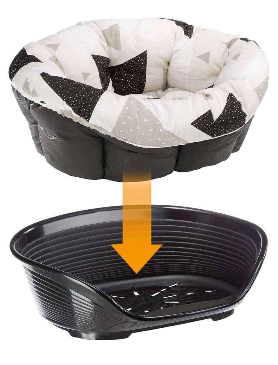 ersatzkissen f r sofa cushion f r hunde und katzen schlafpl tze k rbchen. Black Bedroom Furniture Sets. Home Design Ideas