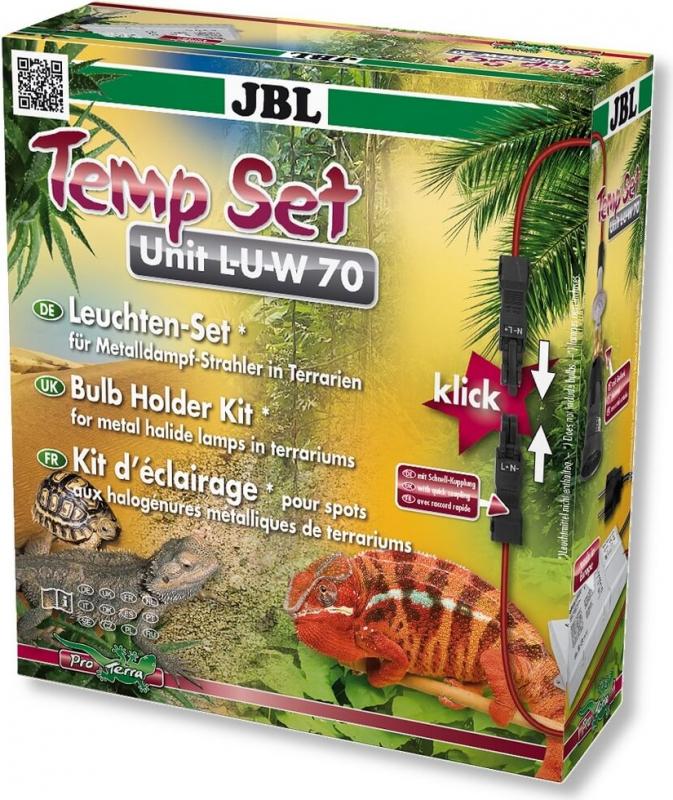 JBL TempSet Unit L-U-W - Set d'installation pour spots LUW dans les terrariums