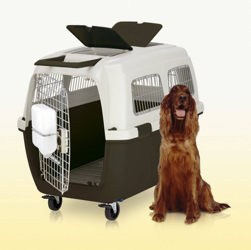 clipper idhra cage de transport pour grands chiens. Black Bedroom Furniture Sets. Home Design Ideas