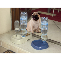 TOTA 2 - Mangeoire et siphon pour l'eau pour bouteilles d'eau (2)