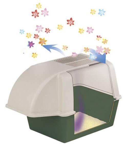 freecat maxi maison de toilette pour chat outdoor avec filtres bac et maison de toilette. Black Bedroom Furniture Sets. Home Design Ideas
