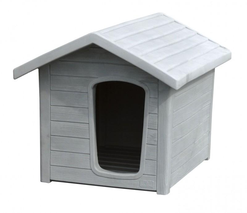 linda 2 niche plastique effet bois taille m niche. Black Bedroom Furniture Sets. Home Design Ideas