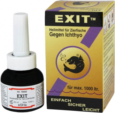 eSHa Exit Anti-Whitespot Treatment