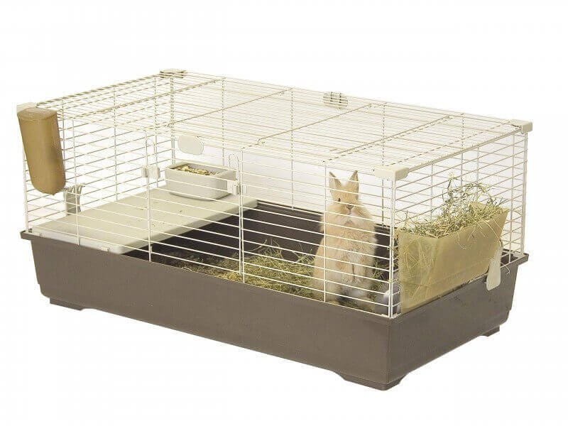 cage pour lapins et cobayes tommy c 100 120 cm cage lapin. Black Bedroom Furniture Sets. Home Design Ideas
