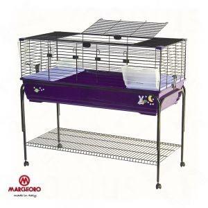 Cage pour lapins for Cage exterieur pour lapin pas cher