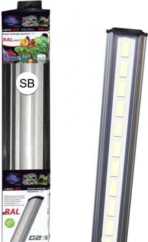 Rampe Lumivie LED / RAL G2 - SB Blanc