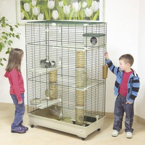 cage pour furets et chinchillas sara 100 cm cage chinchilla. Black Bedroom Furniture Sets. Home Design Ideas