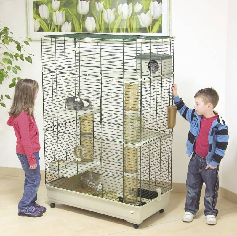 cage pour furets et chinchillas sara 100 cm cage chinchilla. Black Bedroom Furniture Sets. Home Design Ideas