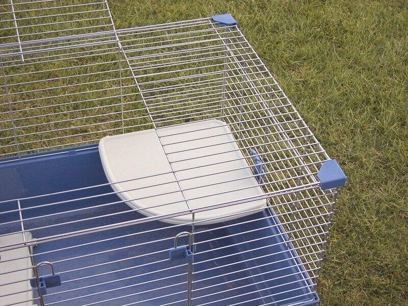 Plateformes pour cages rongeurs RIP SF et RIP TRIS SF Beige rectangulaire
