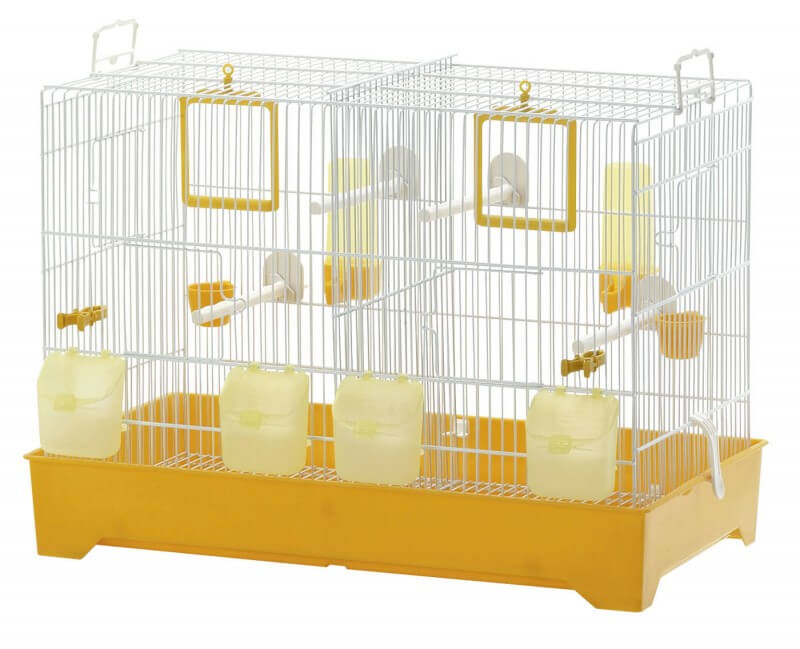 cage oiseaux double. Black Bedroom Furniture Sets. Home Design Ideas