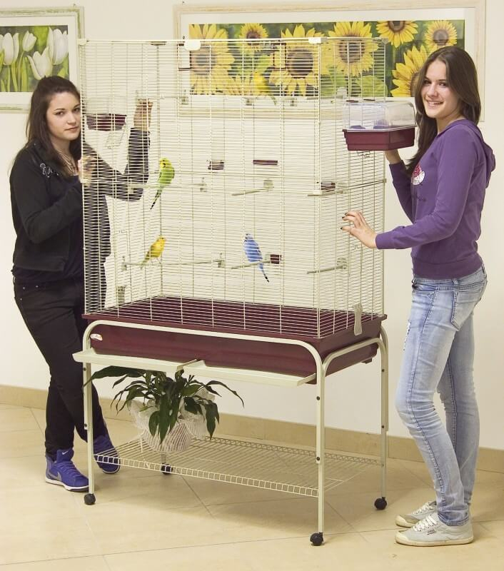 delfi 102 120 jaula para canarios y periquitos tama o. Black Bedroom Furniture Sets. Home Design Ideas