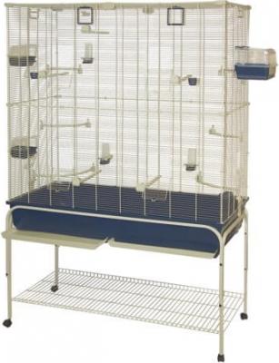 DELFI 102 / 120 - Cage pour canaris et perruches grande taille