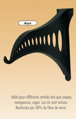 Support mural ARPA pour suspendre vos cages