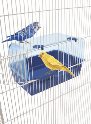 Bañera para periquitos y canarios - RIO 10 PK