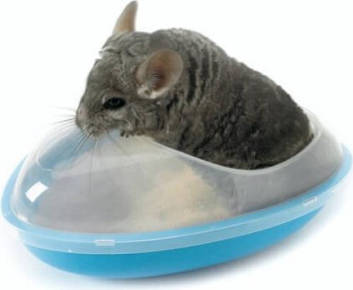 Bac pour terre à bain Wellness pour chinchilla